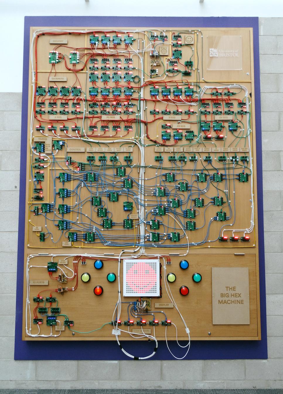 Így néz ki a hatalmas számítógép. Kép forrása: University of Bristol